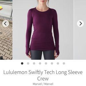 Lululemon Swiftly Tech Long Sleeve Crew - Sz 10